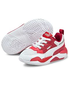 Puma X-Ray 2 square / Persian red-white pink