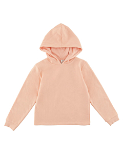 Little Pieces hoodie Chilli / Peachy Keen