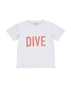 Gro Norr T-shirt 'DIVE'  / Ice blue