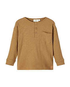 Lil' Atelier Rajo bluse / otter