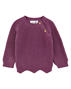 The New Sibling Nolly sweater / mellow mauve