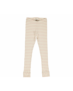 MarMar stribede leggings / Rose-offwhite