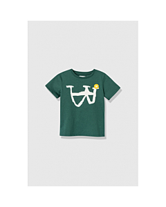 WOOD WOOD Ola T-shirt / Faded green