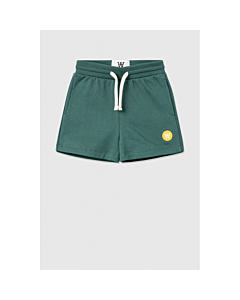 WOOD WOOD VIC sweatshorts / Faded green
