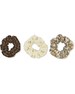 Konges Sløjd 3pk scrunchies BIG / Multi