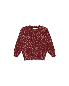 Soft gallery Galou sweatbluse / Oxblood Red