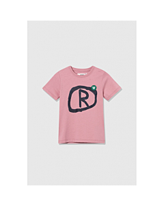 WOOD WOOD Ola T-shirt / Rose
