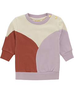 Soft Gallery Buzz sweatshirt / white asparagus