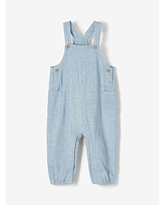 Name It Danny overalls / Dusty Blue