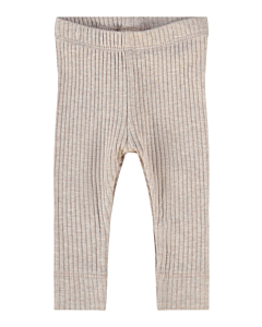 Name it ELLY rib leggings - økologisk / Sphinx