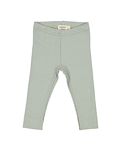 Marmar rib leggings / Sage