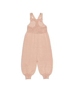 Marmar Ranja pointelle overall / Light Cheek