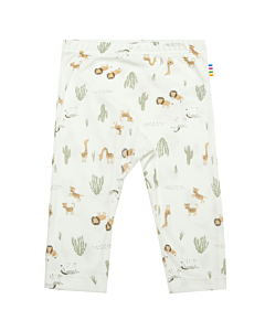 Joha Leggings safari print / offwhite-sage