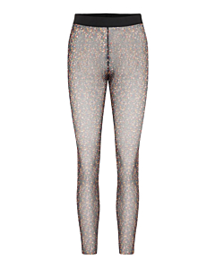 Y.A.S Milana Mesh leggings / Black AOP