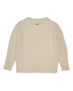 FUB Structure sweater / Ecru
