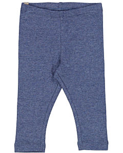 Wheat rib leggings ss21 / blue melange