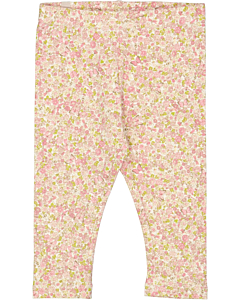 Wheat blomstrede leggings / Bees and flowers