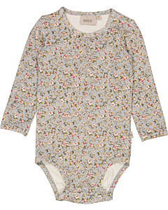Wheat Liv blomstret body / Dusty Dove Flowers