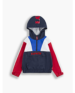 Levis Colorblock Anorak Jakke / Dress Blues