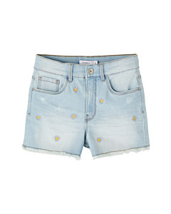 name it BECKY momenim shorts / Light blue denim
