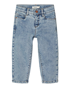 Lil´Atelier BIBI mom jeans / Light blue denim