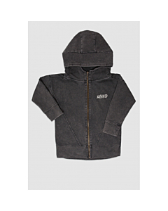 MINIKID zip cardigan / Black
