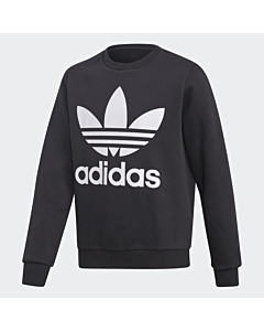 adidas Crew Sweatshirt / Black - white