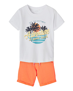 name it GANO Shorts sæt / Melon