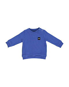 Gro MC Enroe baby bluse / strong blue