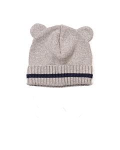 Huttelihut Minnie bear hue med øre / grey-navy