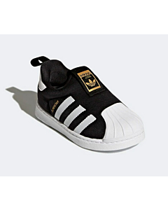 Adidas superstar 360 C sneakers / Black-White-Gold (28-35)