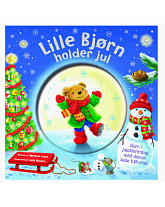 Alvilda Lille bjørn holder jul - Glitter Globe