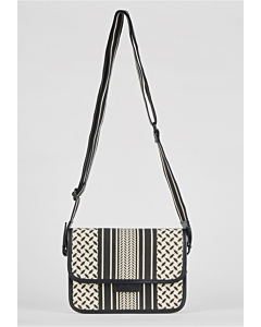 Lala Berlin Crossbody Atlanta / Kufia off-white black