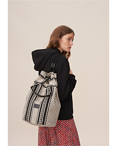 Lala Berlin Sailor Bag Axel / Kufiya off-white