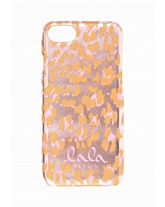 Lala Berlin Iphone Lacquer Cover / Leo Pink Metallic
