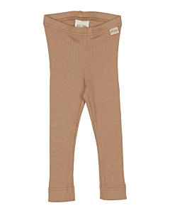 Petit Piao rib Leggings / Natural