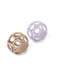 Liewood Jasmin teether ball / Light lavender rose mix