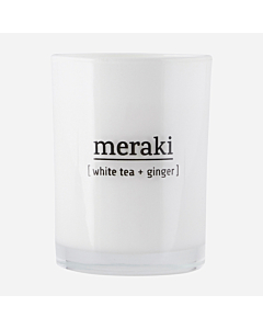 Meraki Duftlys / White tea & ginger