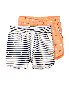 name it VIGGA shorts 2-pak - økologisk / Bright white