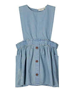 Lil' Atelier spencer kjole / Light blue denim