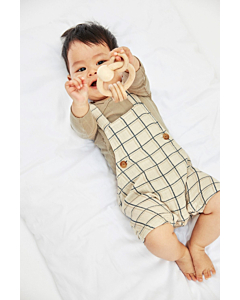 Name It Henry shorts overalls / Oatmeal