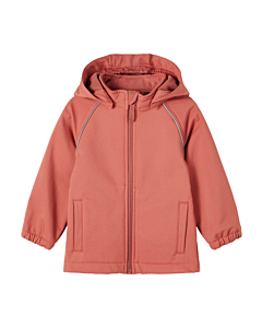 Name It ALFA Magic softshell / Withred Rose (enhjørninge)
