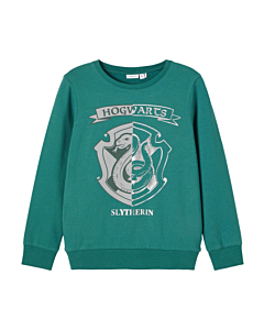 Name It Harry Potter Slytherin sweatshirt / Bayberry