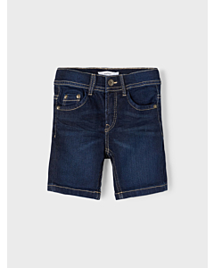 Name It Sofus thris long shorts / dark blue denim