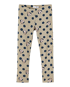 Name It Minnie Faya leggings/ silver sage