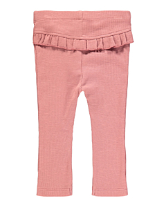 Name It Blanca leggings med flæse / withered rose