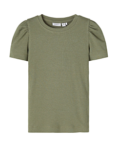 Name It Nilla t-shirt / deep lichen green