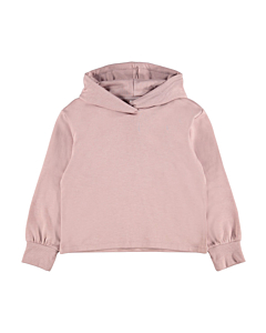Name It Tekka oversize short hoodie / Woodrose