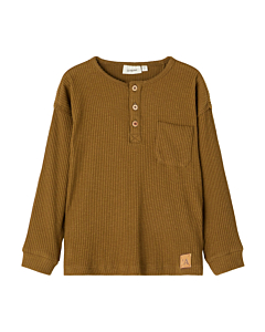Lil' Atelier Rajo bluse / golden brown