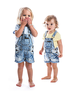 Beau Hudson denim overall / blue